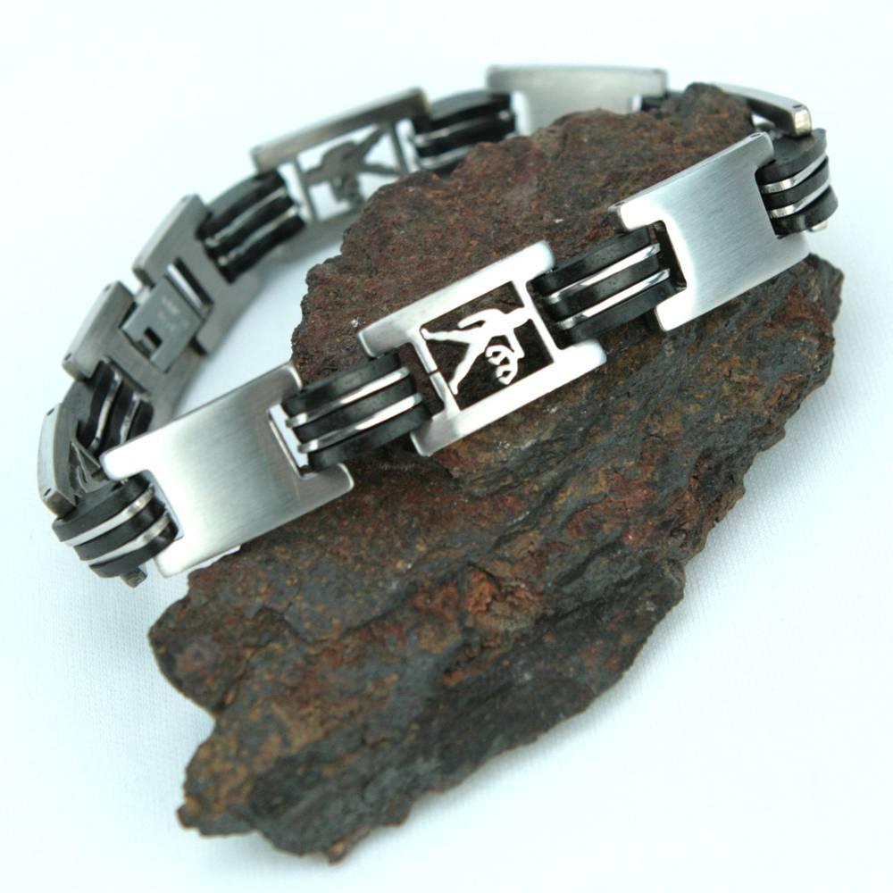 Bracelet acier homme signe du zodiaque Balance BRSZ1 7
