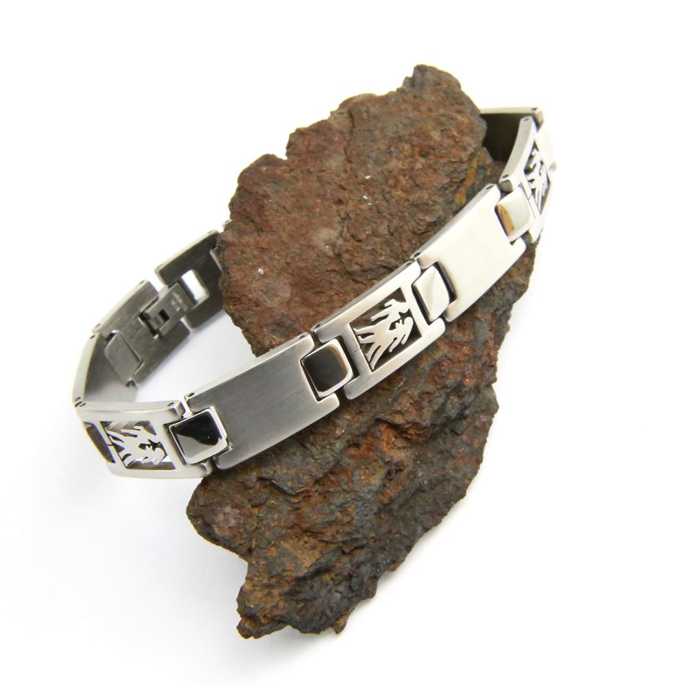Bracelet acier homme signe du zodiaque Gémeaux BRSZ2 3