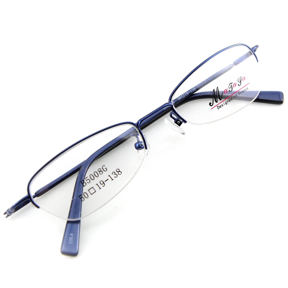 Monture de lunettes de vue flex demi cerclée LB5008 Bleu