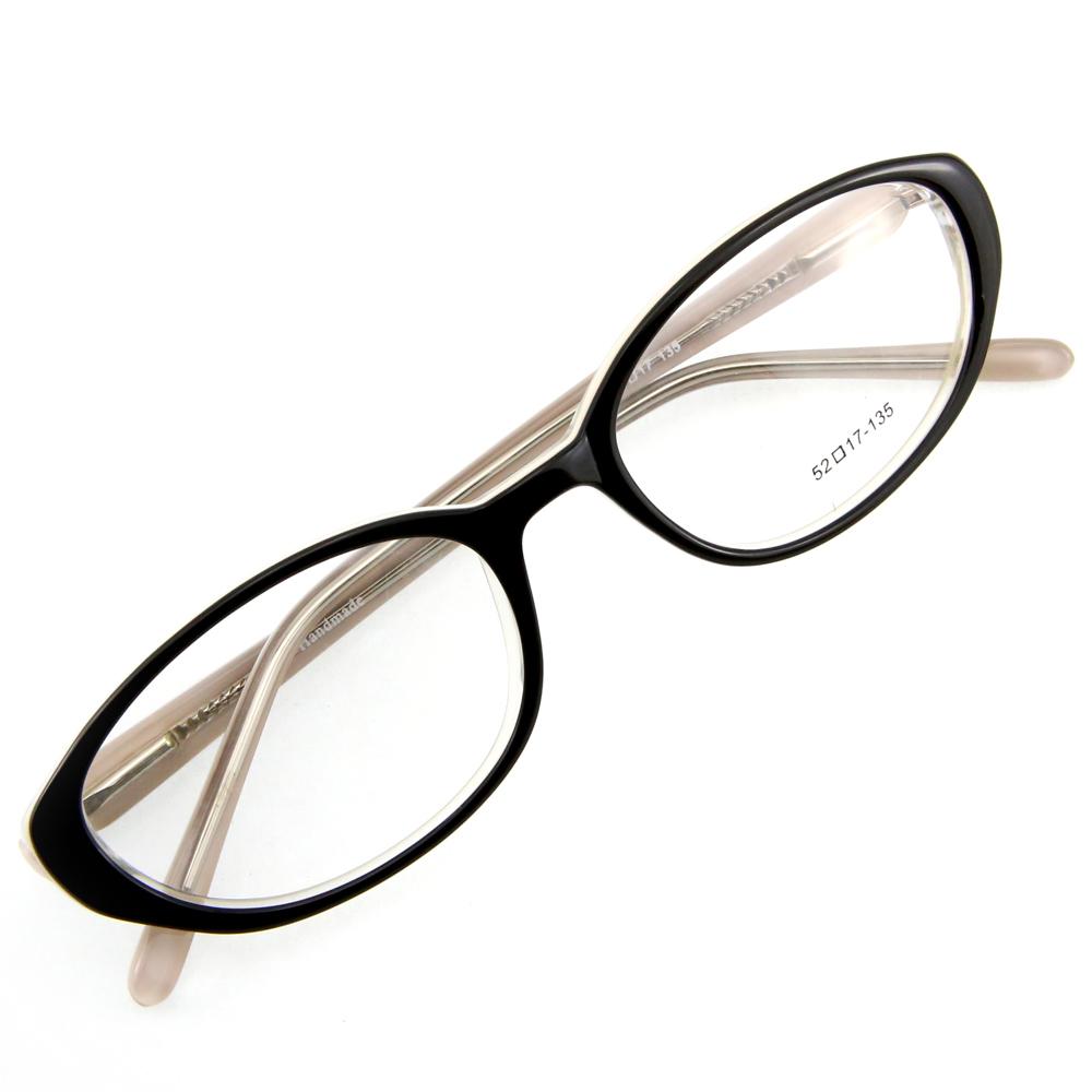 Monture de lunettes de vue cerclée LC1 Noir et blanc