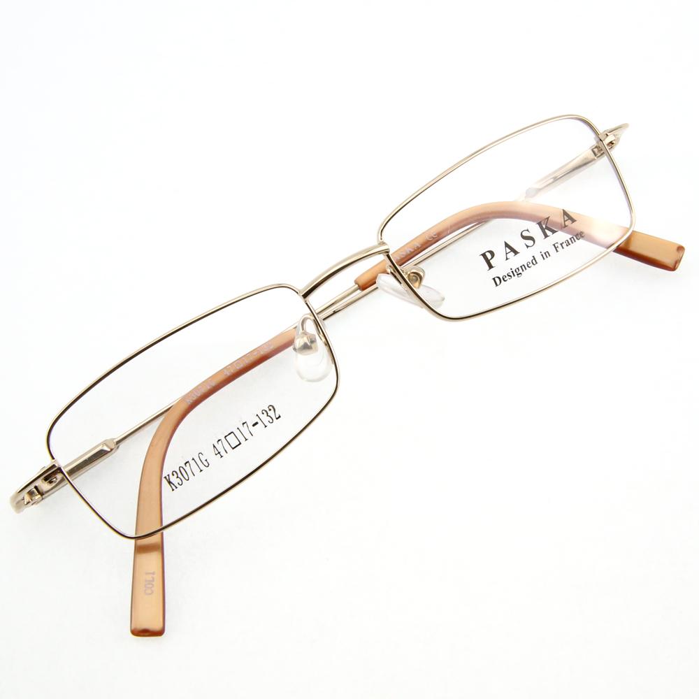 Monture de lunettes de vue flex cerclée LK3071 Doré