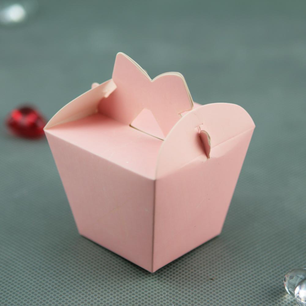 50 boîtes à dragées original déco mariage baptême BTC5 Rose