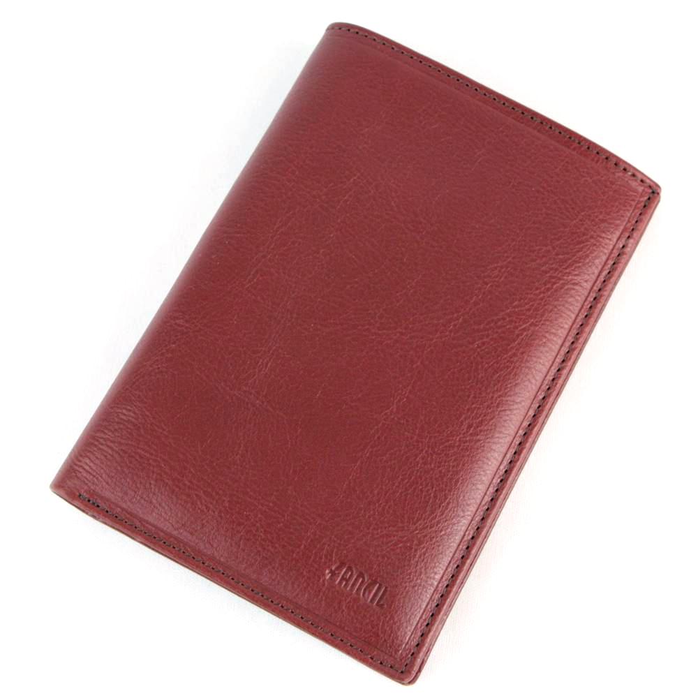Portefeuille porte carte 1 volet cuir FA302 Marron