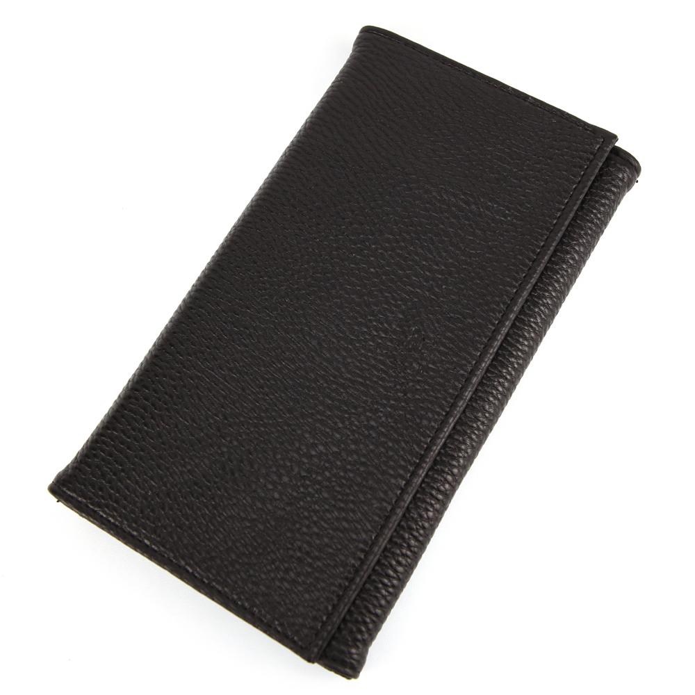 Compagnon de voyage portefeuille porte chéquier imitation cuir B352 Noir