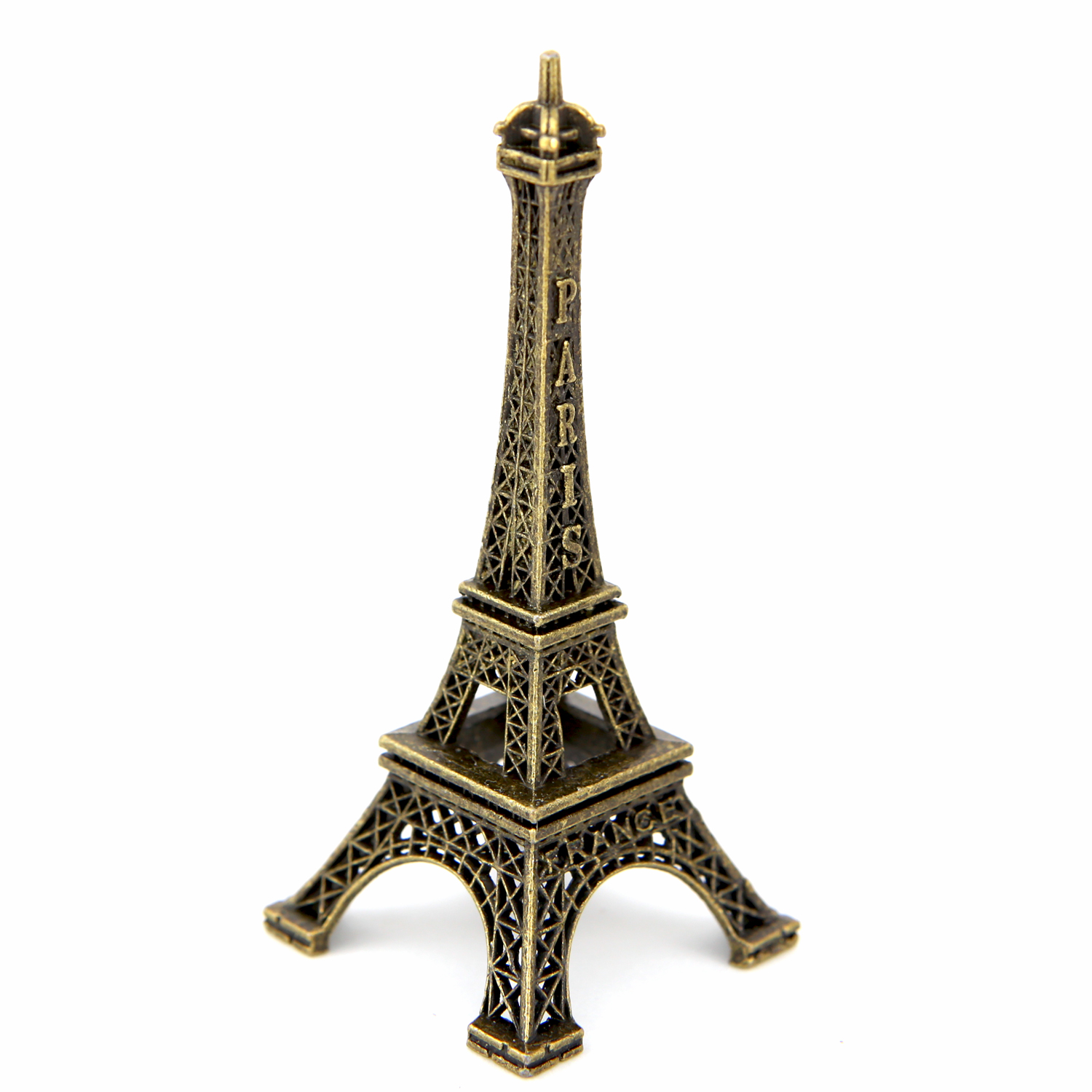 Lot tour eiffel souvenir de paris couleurs bronze 9.5 cm TE9B