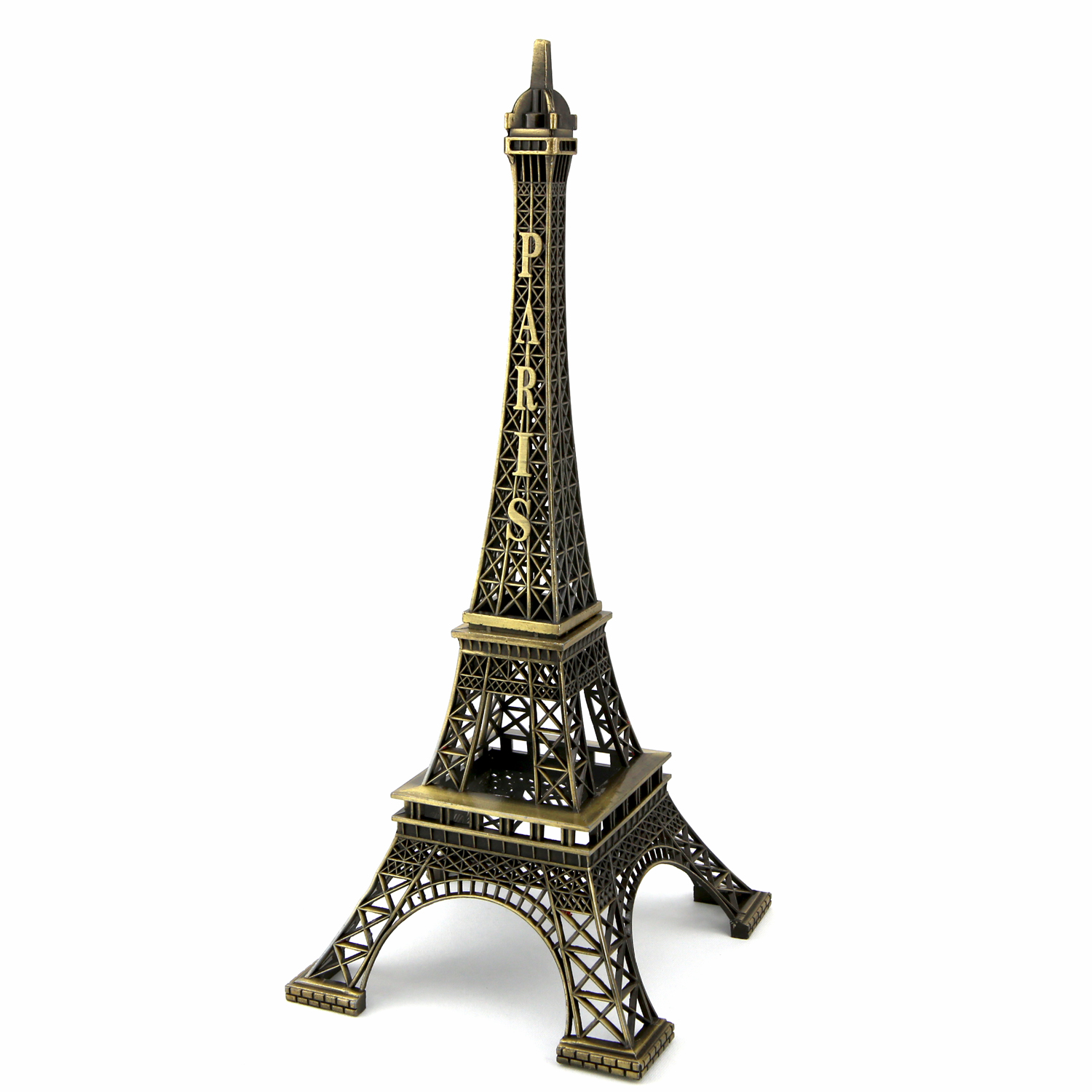 Lot Tour eiffel souvenir de paris bronze 19 cm TE19B