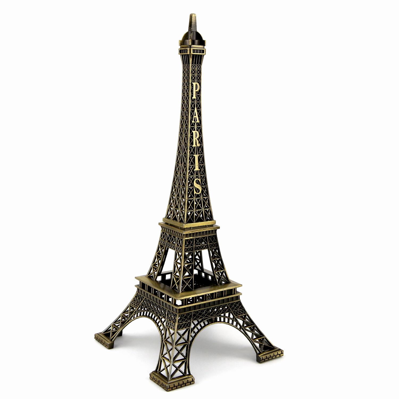 tour eiffel souvenir de paris couleurs bronze 23 cm te23b souvenir de paris deco esot risme. Black Bedroom Furniture Sets. Home Design Ideas