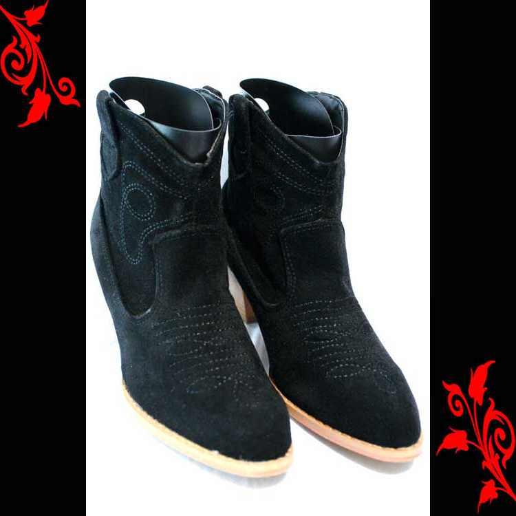 Chaussures bottes bottines simili daim 36 37 38 39 40 41 CBT1 NOIR