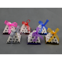 Boîtes à dragées pyramide pour faire part mariage BTP7