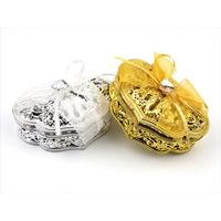 50 Boîtes à dragées en forme boite à bijoux mariage BTD24
