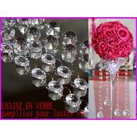Chaîne verre guirlande décoration mariage MDC2