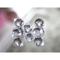Pampille ball cristal Multi facettes décoration mariage MDP3