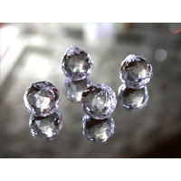 Pampille ball cristal Multi facettes décoration mariage MDP5