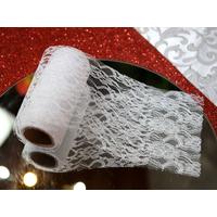Rouleau ruban dentelle décoration mariage voiture MRB2