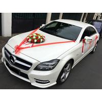 Kit décoration mariage pour voiture complet tout en un MKT1