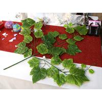 Lot de 10 branches de lierre à feuilles artificielle mariage MRL2