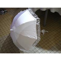 Ombrelle dentelle blanche mariage MPA2
