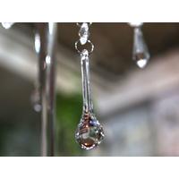 Pampille goutte d'eau long décoration mariage MDP7