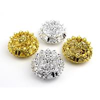 Contenants boîte à dragées bijoux ronde ciselé BTD43