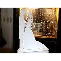Couple mariée décoration table de urne mariage MDU1