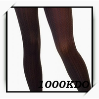 Collant legging gothique opaque mode chaud CL1 MARRON