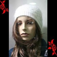 Bonnet femme doux fashion feminin mode neuf BNE1 BLANC