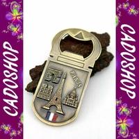Magnet frigo décapsuleur collection collection souvenir de Paris metal S21
