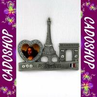 Magnet frigo collection cadeau souvenir de Paris Tour eiffel metal S20