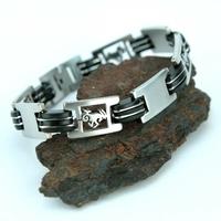 Bracelet acier homme signe du zodiaque Capricorne BRSZ1 10