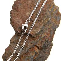 Chaîne collier acier maille forçat CCS5 A 40 cm X 0.15 cm
