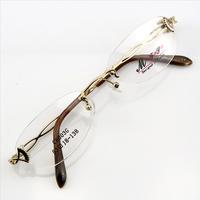 Monture de lunettes de vue percée invisible LC6003 Doré