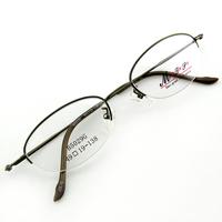 Monture de lunettes de vue demi cerclée LB5029 Vert kaki