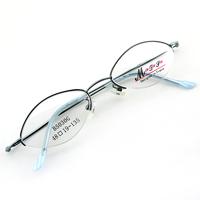 Monture de lunettes de vue demi cerclée LB5030 Bleu clair