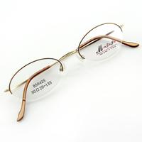 Monture de lunettes de vue demi cerclée LB5042 Doré