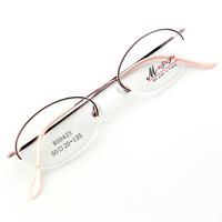 Monture de lunettes de vue demi cerclée LB5042 Rose