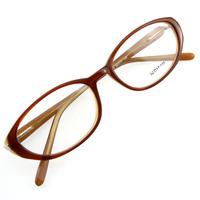 Monture de lunettes de vue cerclée LC2 Marron et camel