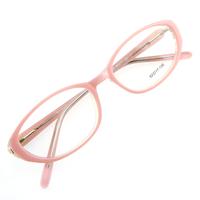 Monture de lunettes de vue cerclée LC3 Rose et blanc