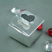 50 boîtes à gâteaux pour faire part mariage baptême motif papillon BTC9 Argenté