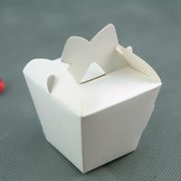 50 boîtes à dragées original déco mariage baptême BTC5 Blanc