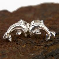Boucles d'oreilles bo dauphin argent BOA5A