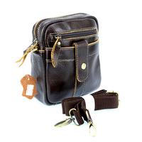 Sac pochette bandoulière ceinture cuir SB1201 Marron