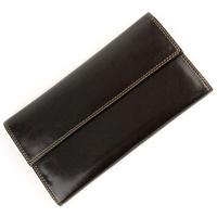 Compagnon de voyage portefeuille porte chéquier imitation cuir B6393 Marron