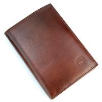 Portefeuille porte cartes 2 volets cuir vachette GZ0002 Marron