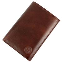 Portefeuille porte cartes 3 volets cuir vachette GZ0007 Marron