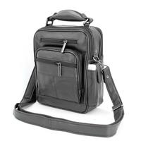 Sacoche besace sac à bandoulière cuir vachette SB1122 P Noir