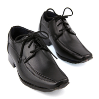 Chaussure derby enfant garçon pour cérémonie mariage C2111 NOIR