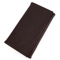 Compagnon de voyage portefeuille porte chéquier imitation cuir B352 Marron