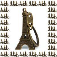 Lot de 300 porte clés clef tour Eiffel souvenir paris bronze revendeur TEB300