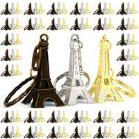 Lot 100 Portes clés clés Tour Eiffel cadeau souvenir de Paris 3 couleurs mélangés TE3CL100