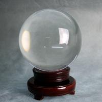 Boule de cristal voyance divination ésotérisme feng shui 15 cm DEB15